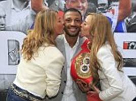Kell Brook given hero's welcome at Sheffield civic reception after winning IBF welterweight title