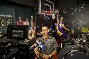 lin joins waxed celebs in madame tussauds